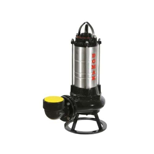 Domak AST 1350 V5 7.5 HP 380V Çelik Gövdeli Atık Su Dalgıç Elektropomplar
