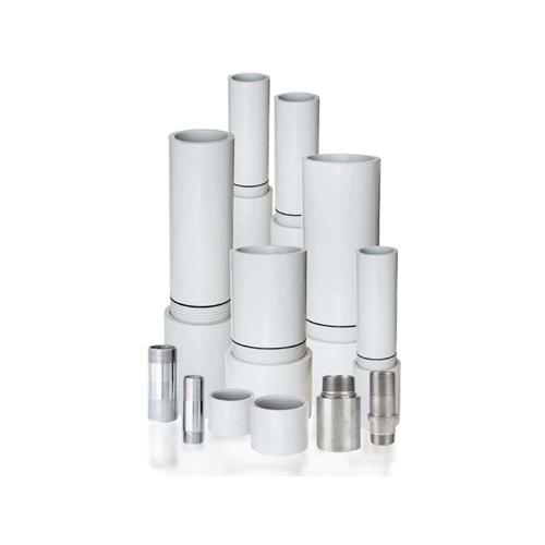 Düzgünler Plastik 1¼ Medium Plus Yerli Pvc Kolon Borusu 3m 15 Bar, Dalgıç Pompa Borusu