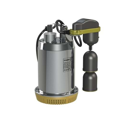 Sumak SDF6A Drenaj Dalgıç Pompa Paslanmaz Gövdeli Monofaze